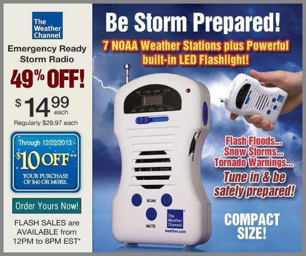 $49% OFF Emergency Radio