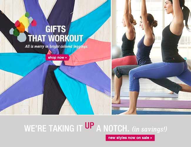 Gifts that Workout. shop now