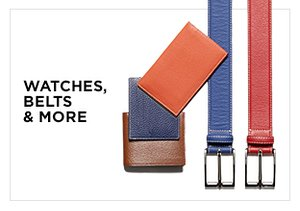 Great Gifts: Watches, Belts & More