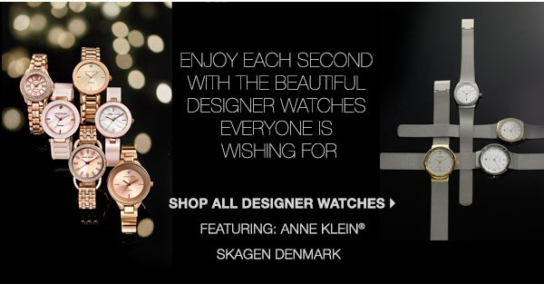 Enjoy each second with the beautiful  designer watches everyone is wishing for. Shop all designer watches.