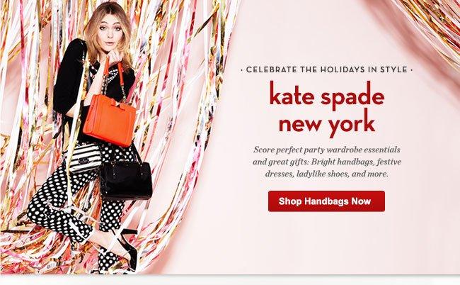 kate spade new york: handbags, dresses, shoes and more - Shop Handbags Now