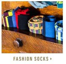 Shop Fashion Socks >