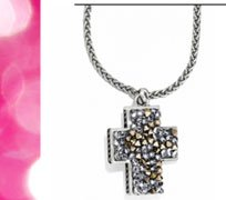 Crystal Rocks Cross $62