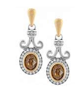 Lion's Eye Earrings $54