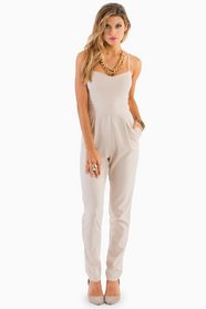 Strappy Sweetheart Jumpsuit