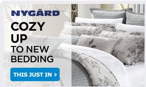 COZY UP TO NEW BEDDING