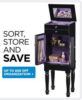 SORT, STORE AND SAVE