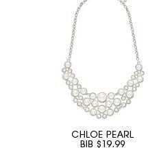 Chloe Pearl Bib.
