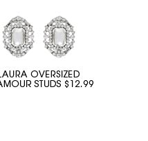 Laura Oversized Glamour Studs