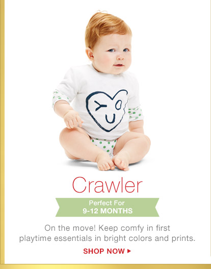 Crawler | Perfect For 9-12 MONTHS | SHOP NOW