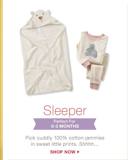 Sleeper | Perfect For 0-3 MONTHS | SHOP NOW