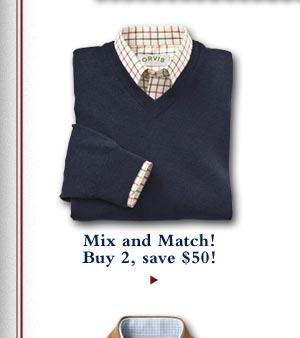 Mix and Match! Buy 2, save $50!
