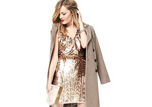 The Holiday Dress: Glamorous Golds