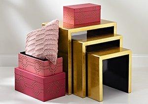A Fashionista's Abode: Glam Décor