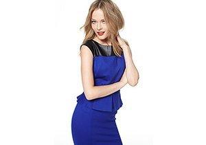 The Holiday Dress: Bold Blues