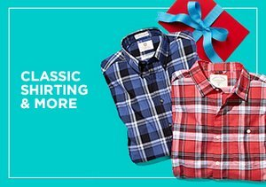 Great Gifts: Classic Shirting & More