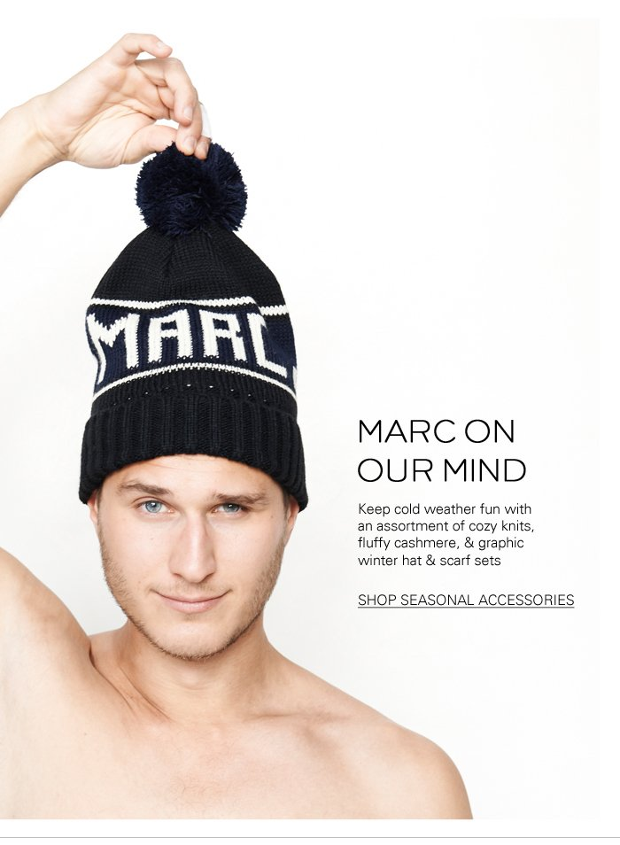 Marc Jacobs | Cashmere & Seasonal Accessories