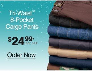 8-Pocket Cargo Pants