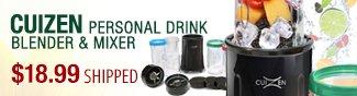 Newegg Flash - Cuizen Personal Drink Blender & Mixer.