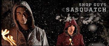 Shop Guys Sasquatch