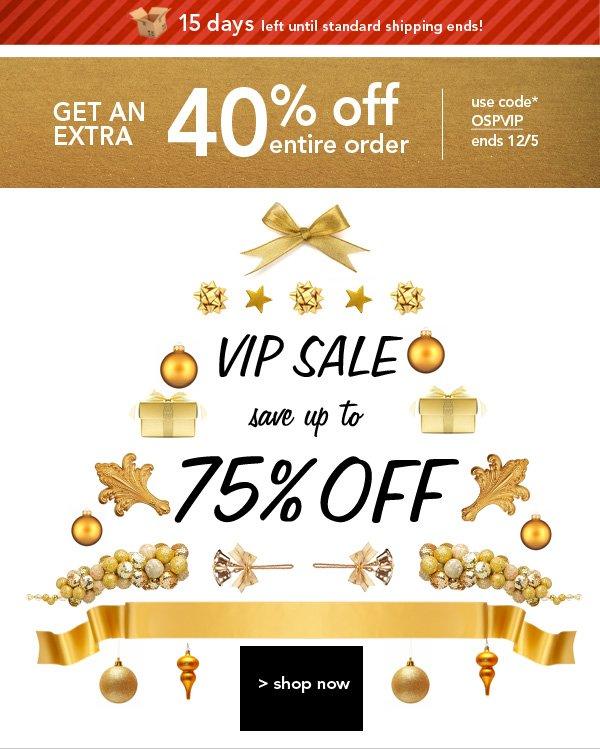 Shop VIP SALE