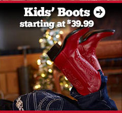 Kids' Boots Starting at $39.99