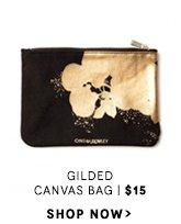 Gilded Canvas Bag. $15. Shop Now.