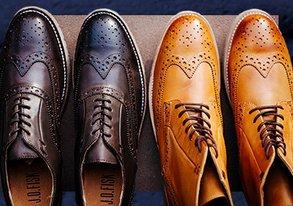 Shop J.D. Fisk: Leather Boots & Brogues