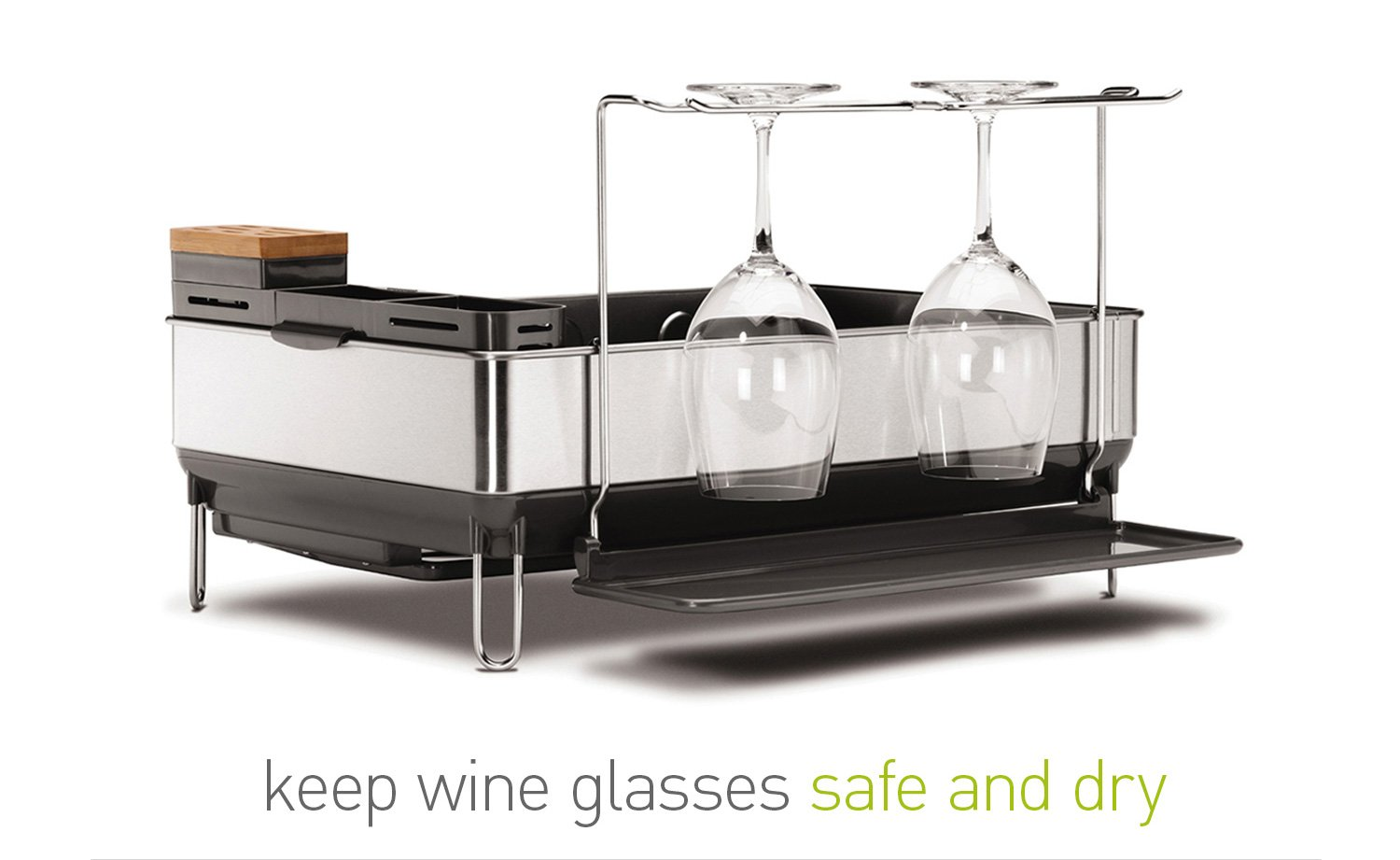 keep wine glasses safe and dry