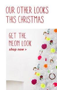 Neon Christmas Look