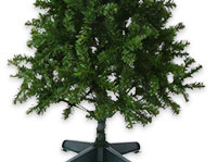 evergreen 5ft christmas tree with stand