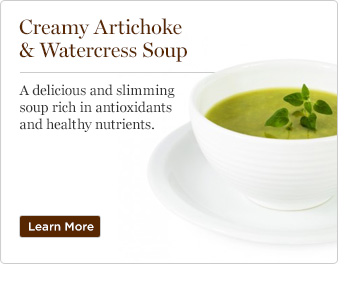Creamy Artichoke & Watercress Soup