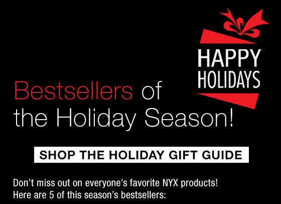 Bestsellers of the Holiday Season!  Shop The Holiday Gift Guide