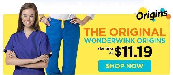 WonderWink Origins starting at $11.19 - Shop Now