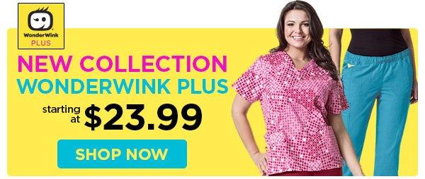 WonderWink Plus starting at $23.99 - Shop Now