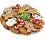Christmas Favor Cookie Tray