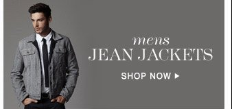 Mens Jean Jackets  - Shop Now