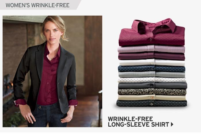 Shop Women's Wrinkle Free Shirts