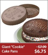 Giant Cookie Cake Pans