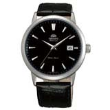 Orient ER27006B Men's Symphony Black Dial Leather Strap Mechanical Automatic Watch