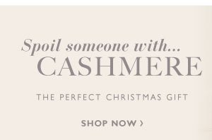 Spoil someone with....Cashmere