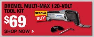 Dremel Multi-Max 120 Volt Tool Kit