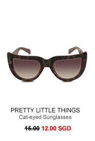 PRETTY LITTLE THINGS Cat-eyed Sunglasses