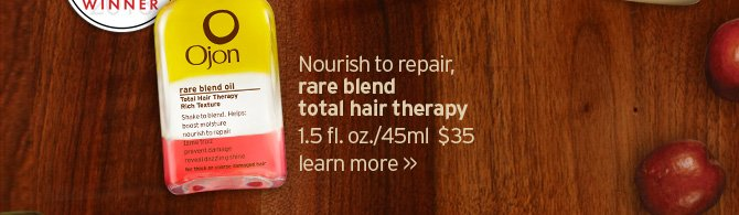 Nourish to repair rare belnd total hair therapy LEARN MORE