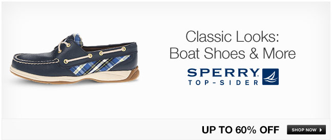 Classic Looks: Boat Shoes and More