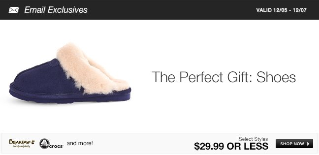The Perfect Gift: Shoes