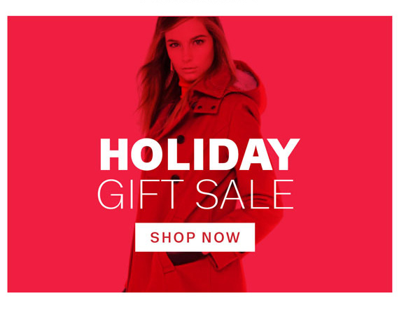Holiday Gift Sale. Shop Now
