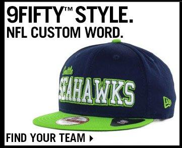 Shop All NFL Custom Word 9FIFTY