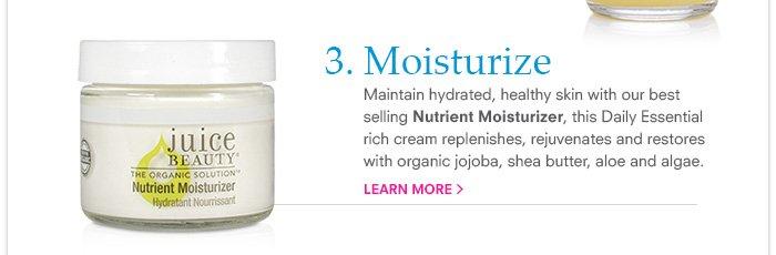 Moisturize - Nutrient Moisturizer
