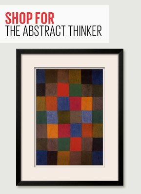 SHOP FOR THE ABSTRACT THINKER - NEW HARMONY, 1936 By: Paul Klee